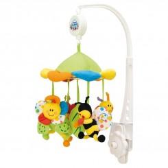 آویز تخت موزیکال کانپول بی بی مدل چتری پولیشی Canpol babies