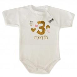 خريد اينترنتي سيسموني نوزاد زیرپوش زیر دکمه دار نوزادی از 1 تا 3 ماه طرح تولد تاپ لاین Topline نوزادی، نی نی لازم فروشگاه اینترنتی سیسمونی
