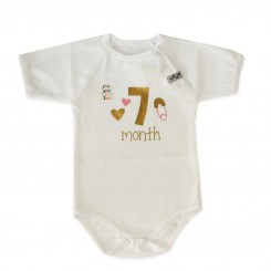 لباس ماه گرد تولد7ماهگی تاپ لاین Topline