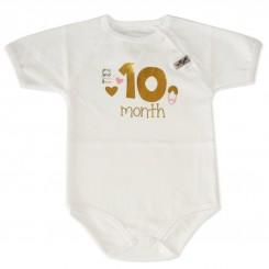 لباس نوزادی ماه گرد تولد10 ماهگی تاپ لاین Topline