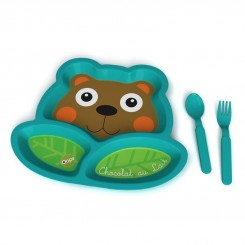 خريد اينترنتي سيسموني نوزاد ظرف غذای کودک اوپس طرح خرس OOPS نوزادی، نی نی لازم فروشگاه اینترنتی سیسمونی