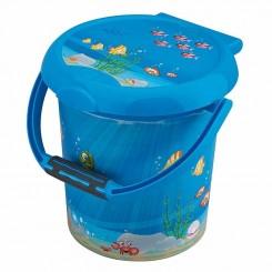 خريد اينترنتي سيسموني نوزاد سطل حمام درب دار روتو طرح اقیانوس Rotho نوزادی، نی نی لازم فروشگاه اینترنتی سیسمونی