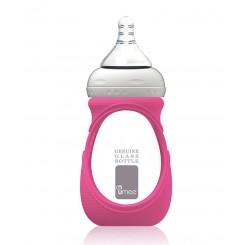 خريد اينترنتي سيسموني نوزاد شیشه شیر پیرکس 240 میل با عایق ضربه گیر یومه Umee - 2 نوزادی، نی نی لازم فروشگاه اینترنتی سیسمونی