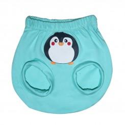 خريد اينترنتي سيسموني نوزاد شورت پوشکی نوزاد مدل پنگوئن به آوران Behavaran نوزادی، نی نی لازم فروشگاه اینترنتی سیسمونی