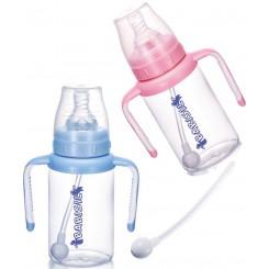 شیشه شیر دسته دار 360درجه 170میل بی بی سیل Babisil