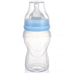خريد اينترنتي سيسموني نوزاد شیشه شیر تمام سلیکون 250 میل بی بی سیل Babisil - 1 نوزادی، نی نی لازم فروشگاه اینترنتی سیسمونی