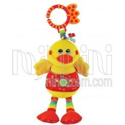 خريد اينترنتي سيسموني نوزاد نخکش موزیکال اردک جولی بی بی Jollybaby - 1 نوزادی، نی نی لازم فروشگاه اینترنتی سیسمونی