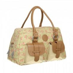 کیف حمل لوازم نوزاد و مادر مدل Vintage Rosebud Fairytalesبرند لیسیگ LAESSIG