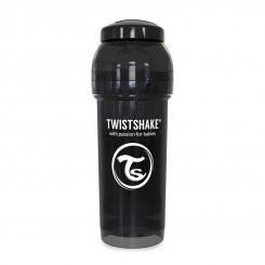 شیشه شیرضدنفخ تویست شیک 180میل مشکی Twistshake