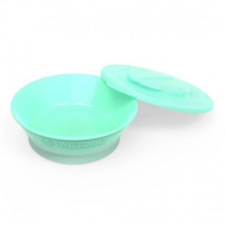 کاسه غذاخوری کودک تویست شیک پاستل سبز Twistshake