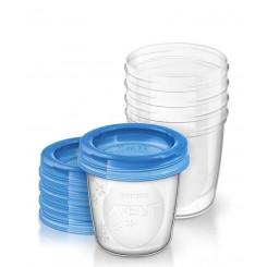 ظروف ذخیره شیر درب دار 180میل فیلیپس اونت Philips Avent