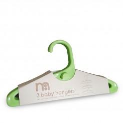 چوب لباسی 3عددی سبز روشن نوزاد مادرکر MotherCare