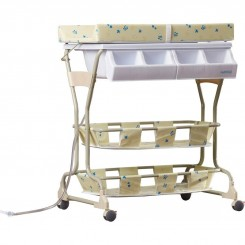 وان حمام نوزادی بی بی ورد مدل پایه دار Baby world