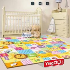 زیرانداز بازی اتاق کودک طرح شیر Yingzhili