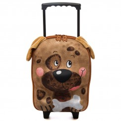 چمدان چرخدار کوچک بچگانه برند اوکی داگ طرح سگ Okiedog