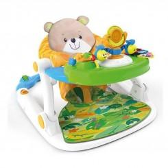 خريد اينترنتي سيسموني نوزاد روروئک واکر موزیکال وین فان طرح خرس Win Fun نوزادی، نی نی لازم فروشگاه اینترنتی سیسمونی
