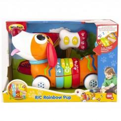 خريد اينترنتي سيسموني نوزاد اسباب بازی کنترلی سگ رنگین کمان وین فان Win Fun نوزادی، نی نی لازم فروشگاه اینترنتی سیسمونی