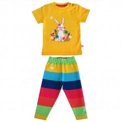 خريد اينترنتي سيسموني نوزاد ست بلوز شلوار نوزادی به آوران مدل خرگوش Behavaran نوزادی، نی نی لازم فروشگاه اینترنتی سیسمونی