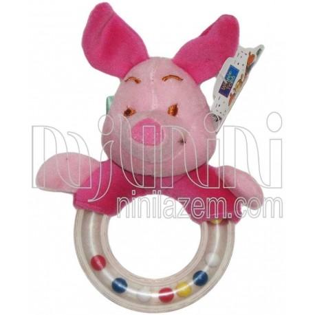 جغجغه حلقه ای پلاستیکی دیزنی Disney - 1
