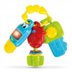 خريد اينترنتي سيسموني نوزاد دندانگیر نوزادی کلمنتونی مدل کلید چراغدار Clementoni نوزادی، نی نی لازم فروشگاه اینترنتی سیسمونی