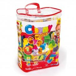 خريد اينترنتي سيسموني نوزاد لگو بازی 55 تکه کلمنتونی اسباب بازی آموزشی Clementoni نوزادی، نی نی لازم فروشگاه اینترنتی سیسمونی