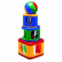 اسباب بازی پازل استوانه تولو Tolo