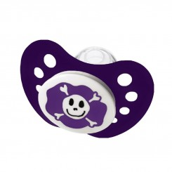 خريد اينترنتي سيسموني نوزاد پستانک ارتودنسی درب دار Pirate طرح دزد دریایی بنفش نیپ Nip - 1 نوزادی، نی نی لازم فروشگاه اینترنتی سیسمونی