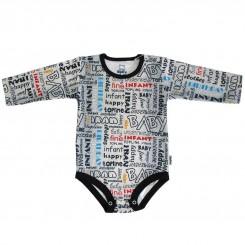 لباس پسرانه زیر دکمه دار آستین بلند تاپلاین طرح جین Topline