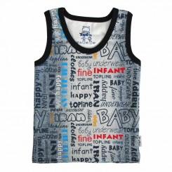 لباس آستین رکابی پسرانه تاپلاین طرح جین Topline