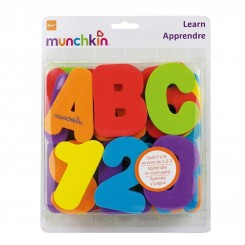 پازل فومی حمام مانچکین طرح حروف و اعداد لاتین Munchkin