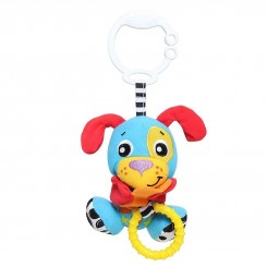 خريد اينترنتي سيسموني نوزاد آویز کریر ویبره دار سگ پلی گرو Playgro نوزادی، نی نی لازم فروشگاه اینترنتی سیسمونی