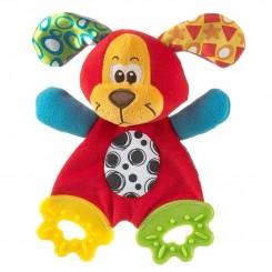 خريد اينترنتي سيسموني نوزاد دندانگیر عروسکی سگ پلی گرو Playgro نوزادی، نی نی لازم فروشگاه اینترنتی سیسمونی