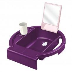 ست بهداشتی آینه دار کودک برند روتو رنگ بنفش Rotho