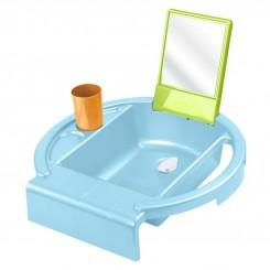 خريد اينترنتي سيسموني نوزاد ست بهداشتی آینه دار پسرانه روتو  رنگ آبی Rotho نوزادی، نی نی لازم فروشگاه اینترنتی سیسمونی