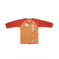 خريد اينترنتي سيسموني نوزاد مانتو پرتقالی تاپ لاین Top Line - 1 نوزادی، نی نی لازم فروشگاه اینترنتی سیسمونی