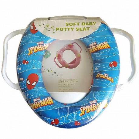 تبدیل توالت فرنگی کودک طرح اسپایدرمن سافت بی بی Soft Baby - 1