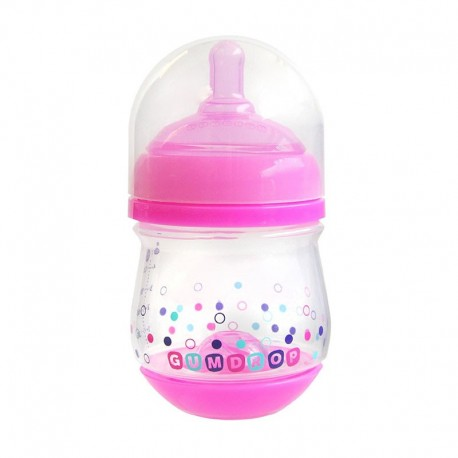 شیشه شیر تپل دخترانه فرست یرز رنگ صورتی First Years