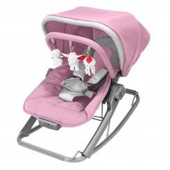 خريد اينترنتي سيسموني نوزاد راکر مک لارن رنگ صورتی - طوسی Mac Laren نوزادی، نی نی لازم فروشگاه اینترنتی سیسمونی