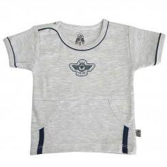 خريد اينترنتي سيسموني نوزاد تیشرت پسرانه لیدولند طرح هواپیما  Lidoland نوزادی، نی نی لازم فروشگاه اینترنتی سیسمونی