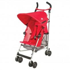 خريد اينترنتي سيسموني نوزاد کالسکه نوازد Mac Laren مدل جهانگرد رنگ قرمز برند مک لارن نوزادی، نی نی لازم فروشگاه اینترنتی سیسمونی