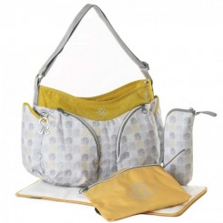 کیف مادر و  نوزاد برند اوکی داگ مدل موندو رنگ خاکستری طلائی Okiedog
