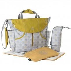 کیف مادر اوکی داگ مدل سومو رنگ خاکستری طلایی Okiedog