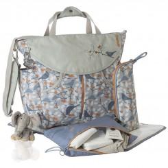 کیف مادر اوکی داگ مدل سومو رنگ آبی نارنجی Okiedog