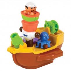 خريد اينترنتي سيسموني نوزاد اسباب بازی کشتی آب پاش دزد دریایی تامی Tomy نوزادی، نی نی لازم فروشگاه اینترنتی سیسمونی
