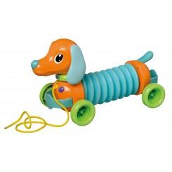 خريد اينترنتي سيسموني نوزاد سگ موزیکال آکاردئونی برند تامی Tomy نوزادی، نی نی لازم فروشگاه اینترنتی سیسمونی