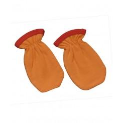 خريد اينترنتي سيسموني نوزاد دستکش پرتقالی تاپ لاین Top Line نوزادی، نی نی لازم فروشگاه اینترنتی سیسمونی