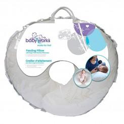 بالش شیردهی نوزاد بامبو برند بی بی ورکس baby works