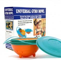 ظرف غذا 360 درجه کودک Universal Gyro Bowl