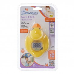خريد اينترنتي سيسموني نوزاد دماسنج حمام کودک دریم بی بی طرح اردک Dreambaby نوزادی، نی نی لازم فروشگاه اینترنتی سیسمونی