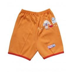 خريد اينترنتي سيسموني نوزاد شورت پادار پرتقالی تاپ لاین Top Line نوزادی، نی نی لازم فروشگاه اینترنتی سیسمونی